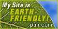 My Site is Earth-Friendly because it's hosted by carbon neutral Pair.com