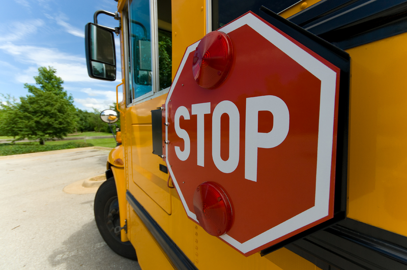 school bus stop sign, dreamstime_2968819